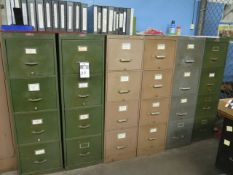 File Cabinets (8) (SOLD AS-IS - NO WARRANTY)