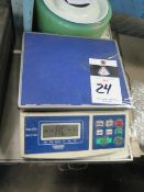 Global 60 Lb Cap Digital Counting Scale (SOLD AS-IS - NO WARRANTY)