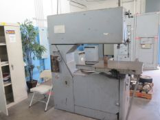 "Grob NS-36 36"" Vertical Band Saw s/n 966 w/ Blade Welder (SOLD AS-IS - NO WARRANTY)"