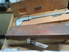 Starrett and Helios Vernier Calipers (4) (SOLD AS-IS - NO WARRANTY)
