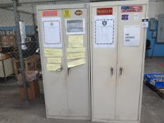 Storage Cabinets (2) (SOLD AS-IS - NO WARRANTY)