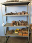 Steel Racks w/ Misc (SOLD AS-IS - NO WARRANTY)