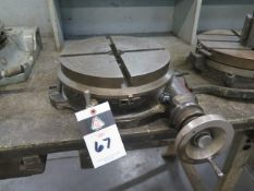 "12"" Rotary Table (SOLD AS-IS - NO WARRANTY)"