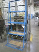 Vertical Material Rack (SOLD AS-IS - NO WARRANTY)
