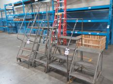 Stock Room Ladders (4) (SOLD AS-IS - NO WARRANTY)