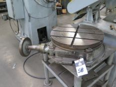 """Troyke 21"""" Rotary Table w/ Table (SOLD AS-IS - NO WARRANTY)"""