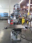 "Bridgepoer Series 1 - 2Hp Vertical Mill s/n 218799 w/ 60-4200 Dial Change RPM, 9"" x 42"" Table ("