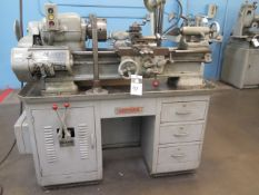 """Sheldon US-46-B 11"""" x 24"""" Lathe s/n US27064 w/ 50-1200 RPM, Inch Threading, Tailstock, SOLD AS IS"""