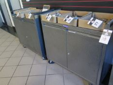 Rolling Cabinets (2) (SOLD AS-IS - NO WARRANTY)