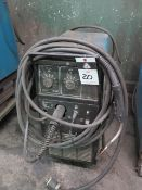 Miller Millermatic 250 CP-DC Arc Welding Power Source and Wire Feeder (SOLD AS-IS - N0 WARRANTY)