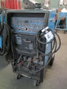 Miller Syncrowave 250DX Arc Welding Power Source s/n MD180096L w/ Cooler Cart SOLD AS-IS