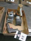 Pneumatic Stapler, Pad Sander and Drill (SOLD AS-IS - N0 WARRANTY)