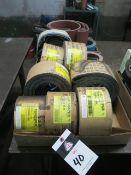 """4"""" x 118"""" Sanding Belts (SOLD AS-IS - N0 WARRANTY)"""