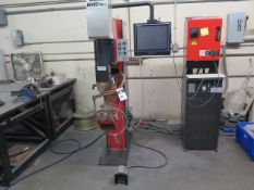 2016 Amada ID40 IV HP-NT CNC Spot Welder s/n 00311876 w/ Amada AMNC-PC Touch Screen, SOLD AS IS