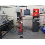2016 Amada ID40 IV HP-NT CNC Spot Welder s/n 00311876 w/ Amada AMNC-PC Touch Screen, SOLD AS IS