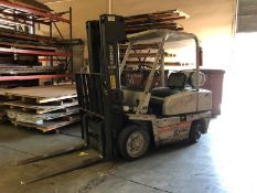 "Kalmar C50 4480 Lb Cap LPG Forklift s/n 177759A w/ 3-Stage Mast, 189"" Lift, Side Shift, SOLD AS IS"