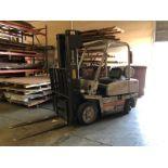 "Kalmar C50 4480 Lb Cap LPG Forklift s/n 177759A w/ 3-Stage Mast, 189"" Lift, Side Shift, SOLD AS IS"