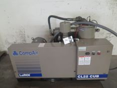 LeRoi compare CL25CUB 25Hp Rotary Vane Air Compressor s/n V9E7493X193 w/ 20,601 Hrs, SOLD AS-IS