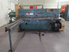 "Amada M-204578"" Power Shear s/n 2401174 w/ Amada Controls and Back Gage, 83"" Squar Arm, SOLD AS IS"