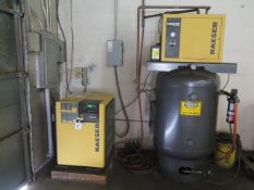 2006 Kaeser SM11 10Hp Rotary Air Compressor s/n 1220 w/ Dig Controls, 42 CFM @ 110 PSIG31,SOLD AS IS