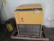 1996 Kaeser SM11 10Hp Rotary Air Compressor s/n 01114727 w/ 42 CFM @ 110 PSIG SOLD AS-IS
