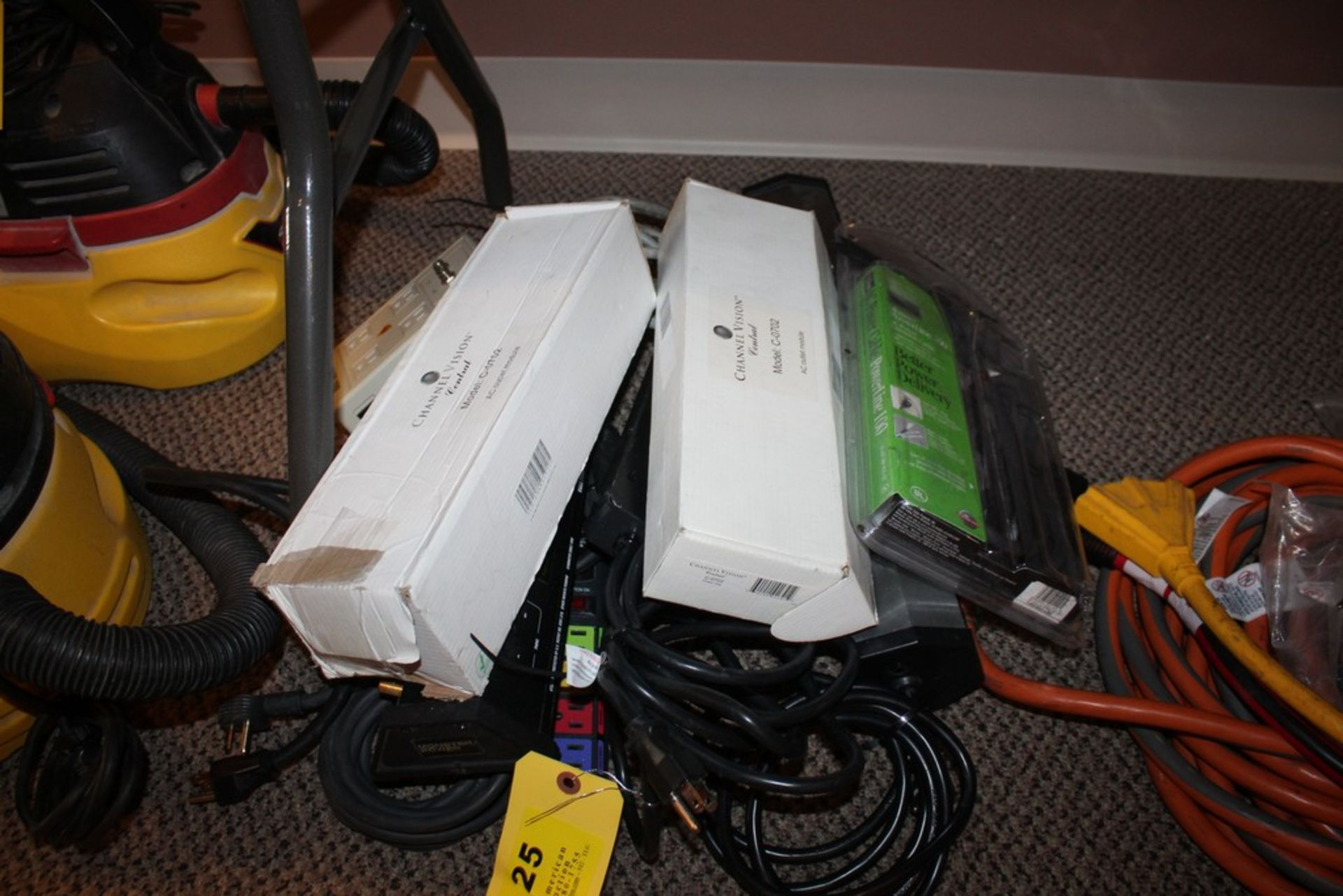 Lot 25 - ASSORTED HEAVY-DUTY POWER STRIPS