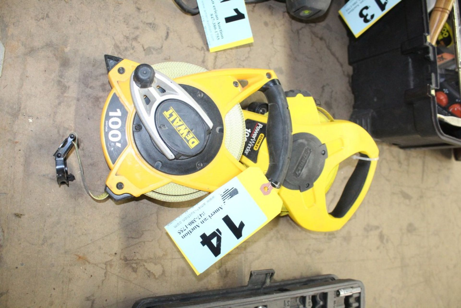 Lot 14 - (2) TAPE MEASURES-100FT.
