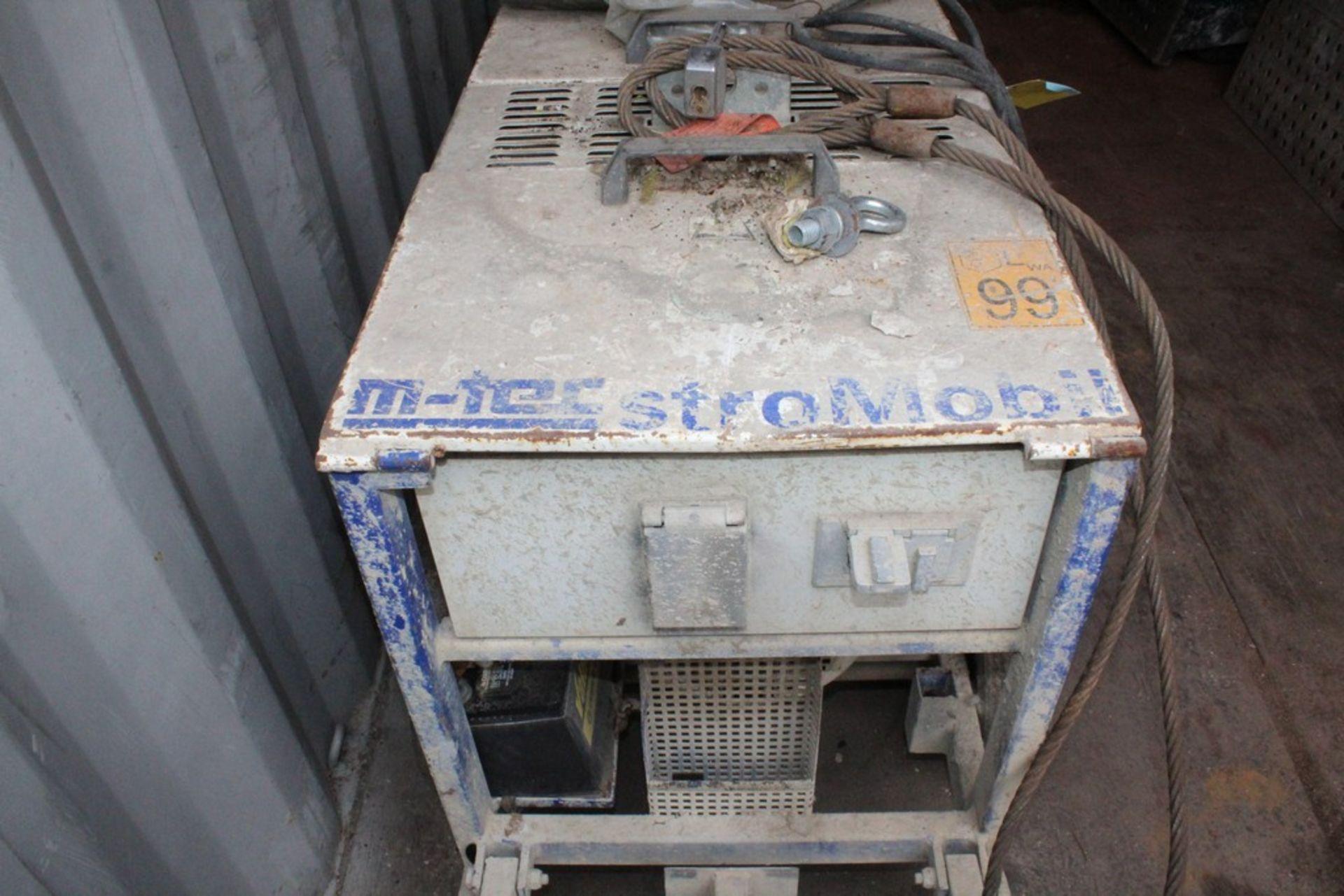 Lot 42 - M-TEC STRO MOBIL GENERATOR WITH KOHLER ENGINE