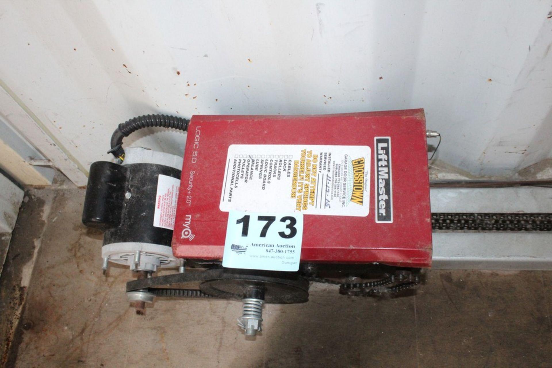 Lot 173 - LIFT MASTER GARAGE DOOR OPENER