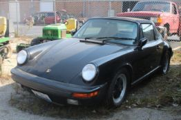 1987 PORSCHE 911 CARRERA, 3.2L H6, CONVERTIBLE, VIN WP0EB0915HS161844 (NOT CURRENTLY RUNNING AND CUR