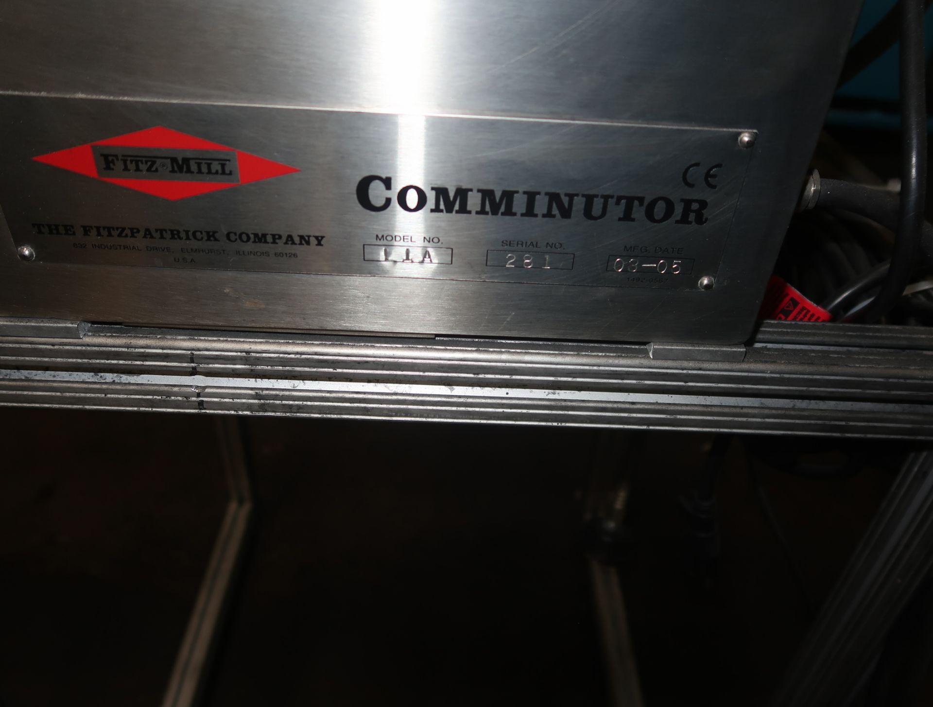 Lot 39 - FITZMILL MDL. L1A COMMINUTOR SN. 281