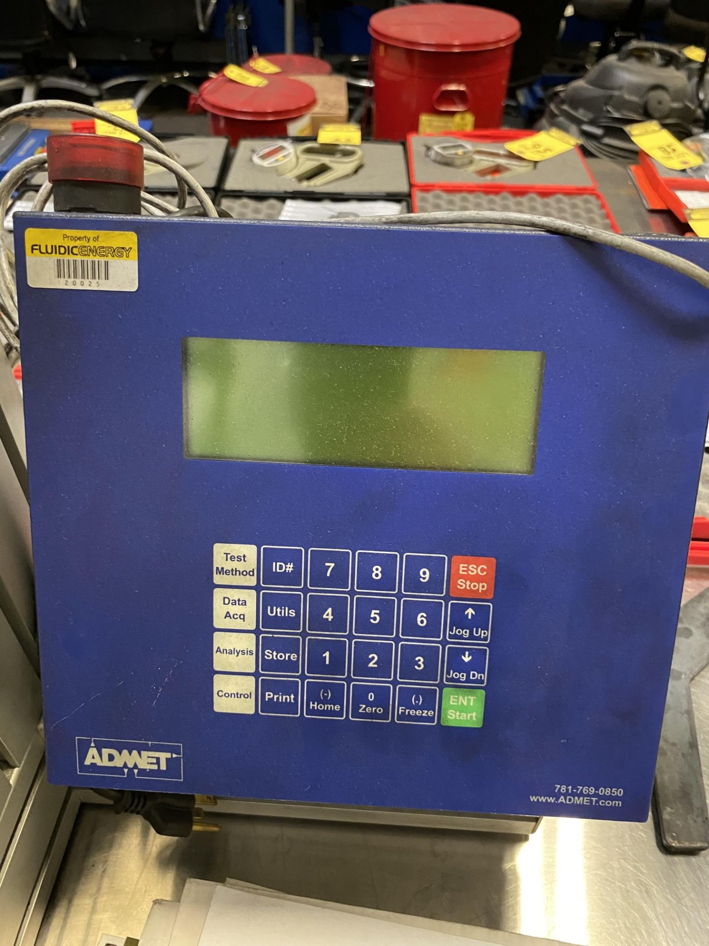 Lot 12 - ADMET TENSIL TESTER W/50lbf AND 1000lbf TRANSDUCERS