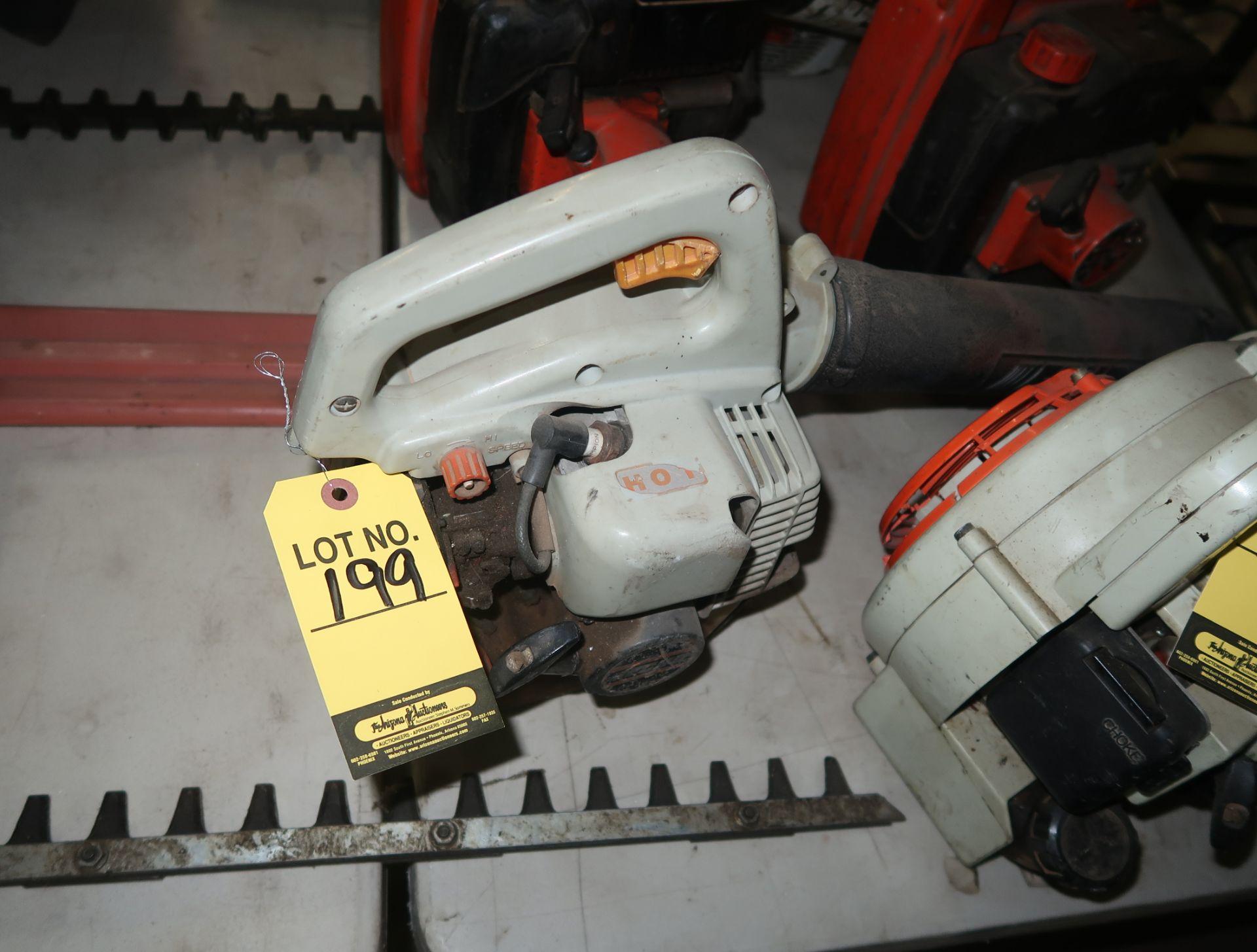 Lot 199 - ECHO PB-1000 POWER BLOWER