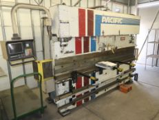 PACIFIC HYDRAULIC 10' X 75TON PRESS BRAKE W/TOOLING SHOWN. MDL. J75-10, SN. 9942 PRESS BRAKE IS