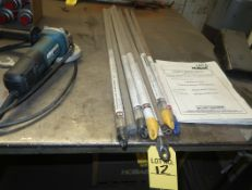 LOT ASST. WELDING ROD, SS, ALUM, ALLOYS