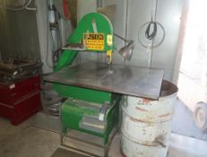 "LOCKFORMER VERTICAL BANDSAW, 24"" THROAT"