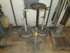 SHOP FABRICATED ADJUSTABLE STANDS
