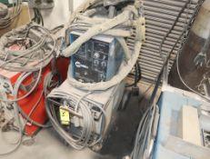 MILLER CP-200 W/ EXTENDED REACH WIRE FEEDER & XR15A AIR COOLED PUSH/PULL GUN