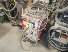 MILLER ROTUNDA SK-35 SPOT WELD PANEL, CONSTANT POTENTIAL DC/ARC WELDING POWER SOURCE AND WIRE
