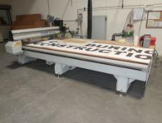 MULTI CAM MG SERIES CNC ROUTER 6.5X12' W/VACUUM TABLE, 480V & 240V MOTORS, COMPUTER, PROGRAMMING