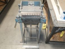 ROPER WHITNEY INC. PEXTO NO. 99 LETTER FORMING BRAKE ON STAND