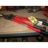 "18"" BOLT & WIRE CUTTER AND OVAL SLEEVE CRIMPER"