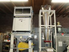 CLM-36 CLASSIFIER MILL W/ SILO & DUST COLLECTOR & MOTION INDUSTRIES GL1505, PO 857 EZ ALIGN LASER