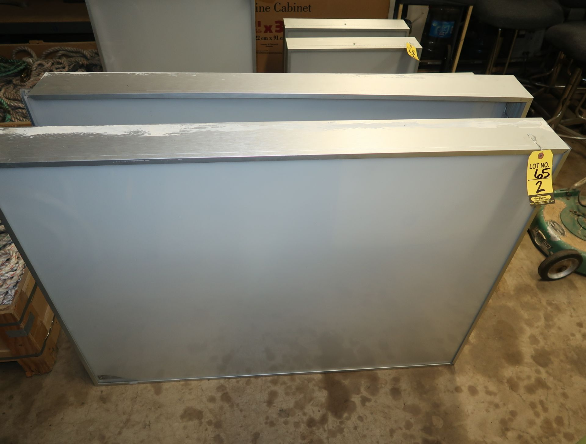 Lot 65 - 4'X3' LIGHT BOXES