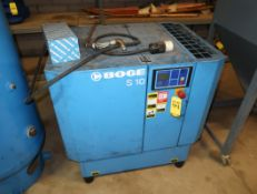 BOGE S10 ROTARY SCREW COMPRESSOR