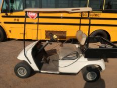TEXTRON EZGO YR GOLFCART W/ CHARGER & UTILITY BED