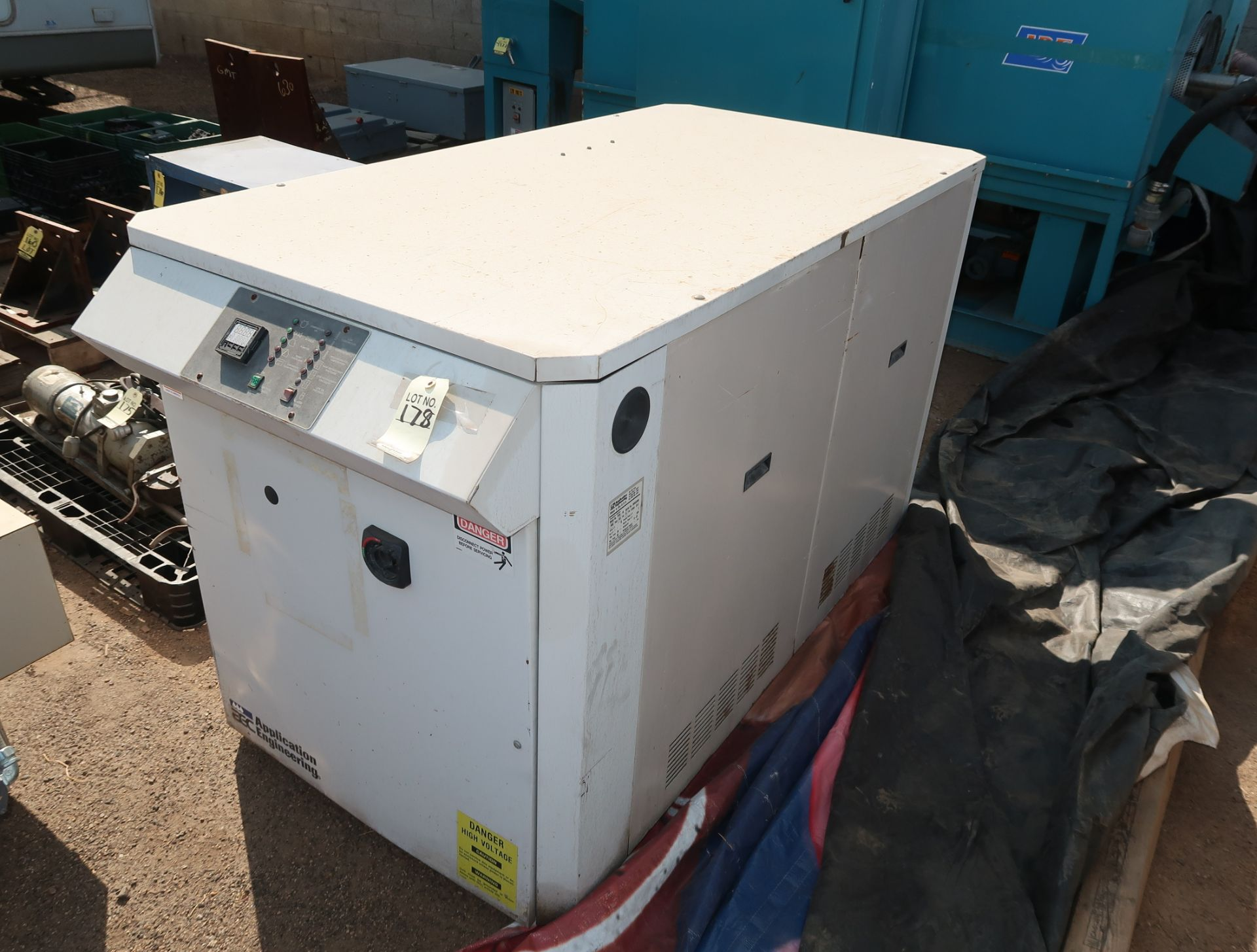 Lot 178 - AEC APPLICATION ENGINEERING PORTABLE CHILLER MDL. PSR-10