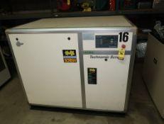 KYUNGWON SCREW AIR COMPRESSOR MDL. CH5A SN. 06030027