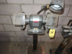 SEARS 1/2HP DOUBLE END PEDESTAL GRINDER