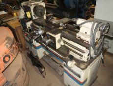 TAKISAWA TS-800D ENGINE LATHE, SN. E8608133H W/ CRATE OF TOOLING